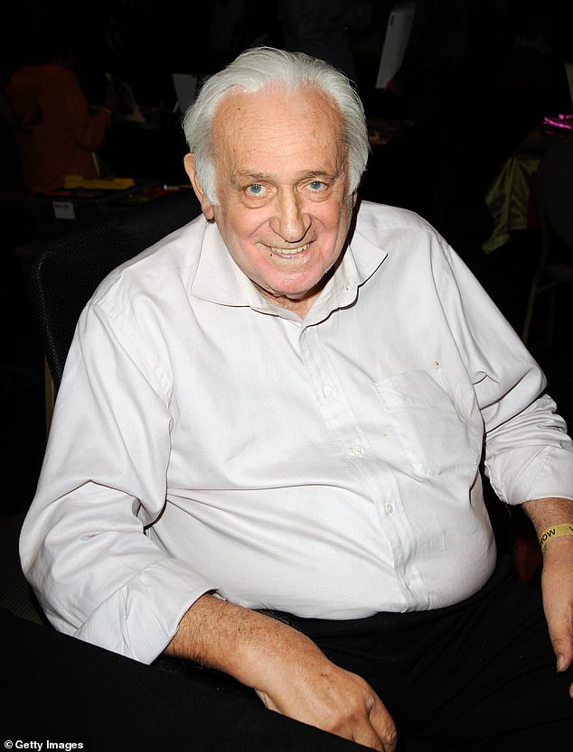 Sad news: The Godfather actor Carmine Caridi, pictured here in 2012, has died at 85 after falling into a coma at a Los Angeles hospital, according to TMZ on Wednesday