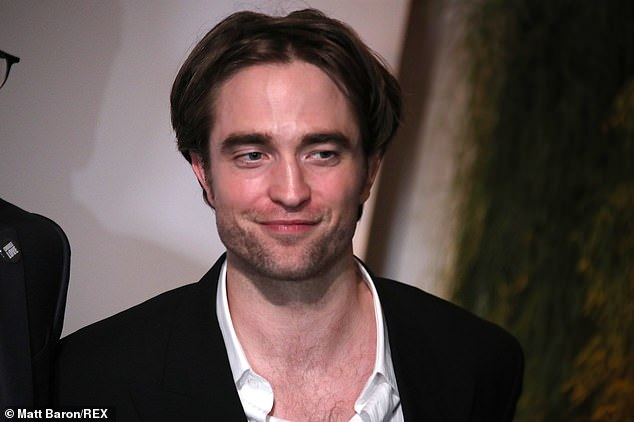 Busy star:Both Pattinson and Hoult are quite the in-demand stars who have busy years ahead of them