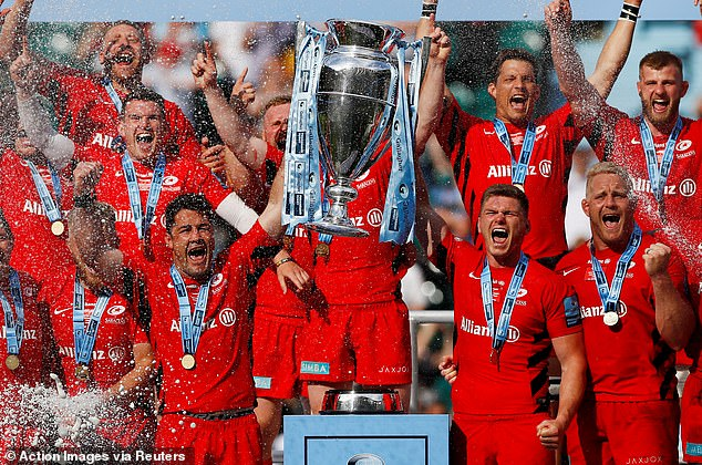 Saracens were able to put recent controversy behind them to win the final in style on Saturday