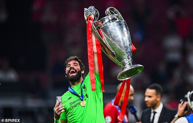 Alisson Becker has huge hand in Champions League glory ...