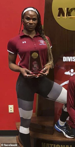Cece Telfer clinched the women's 400-meter hurdles national title at the 2019 NCAA Division II Outdoor Track & Field Championships on May 25