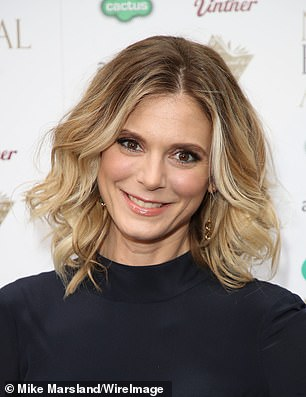 Fighting fit: Emilia Fox attends the National Book Awards at RIBA, central London