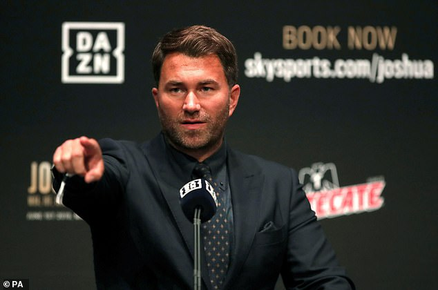 Promoter Hearn has insisted there was nothing wrong with Joshua prior to his fight with Ruiz