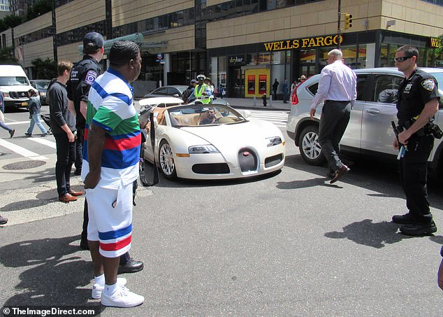 According to witnesses, Morgan remarked at the scene how he had just paid $2 million for the white convertible at Manhattan Motorcars