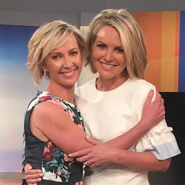 Are Today struggling to book A-list guests? Nine's breakfast show has wheeled out four Married At First Sight stars this week. Pictured Today's Deborah Knight and Georgie Gardner