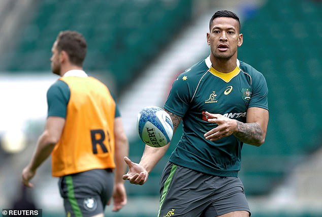 As a result of his online comments Folau saw his £2.15million, four-year deal cut short