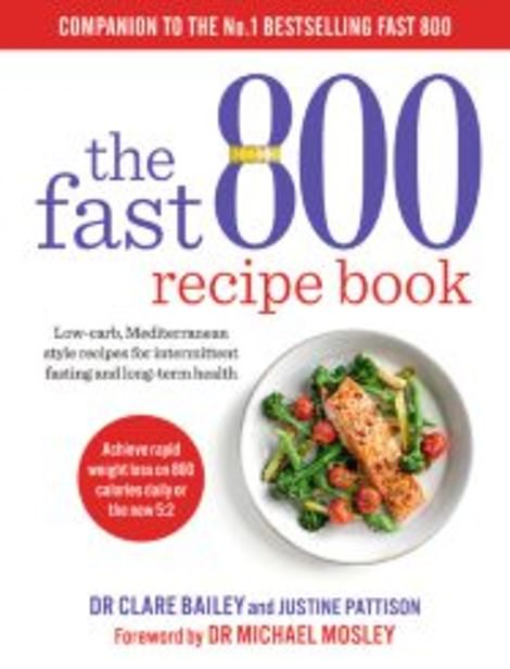 The Fast 800 Recipe Book – unveiled here today – with more tips on how to lose weight and transform your health