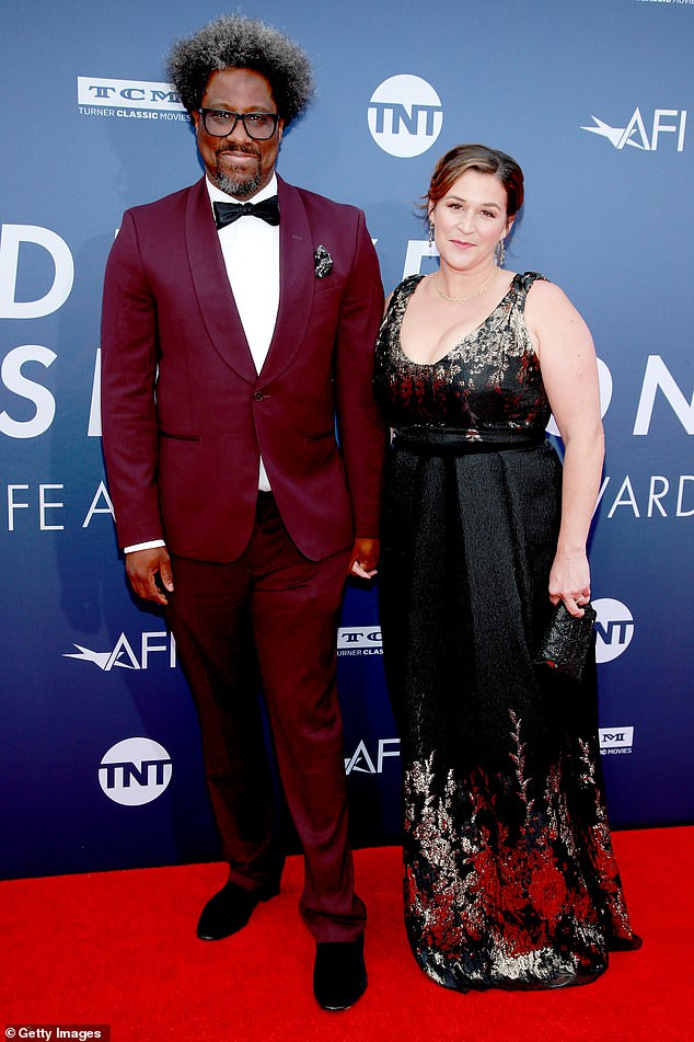 Smart and sharp! W. Kamau Bell and his wife Melissa Bell were the picture of style