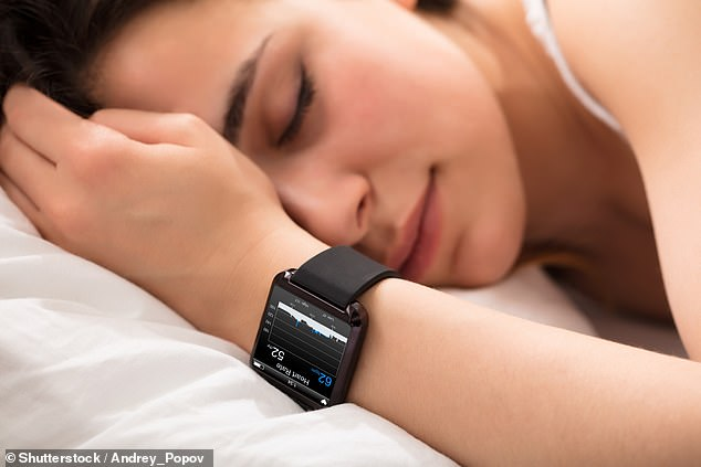 Trendy sleep trackers could cause insomnia, as people lose sleep worrying about how much they are getting. Stock photo