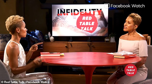 Red Table Talk airs Mondays on Facebook Watch