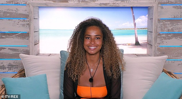 Hopeful: Meanwhile Amber says she hopes Yewande will find some success, after her coupling with Michael stayed platonic