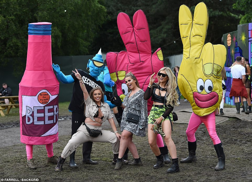 Love Island's Tyne-Lexy Clarson attends the second day at theParklife Festival at Heaton Park in Manchester