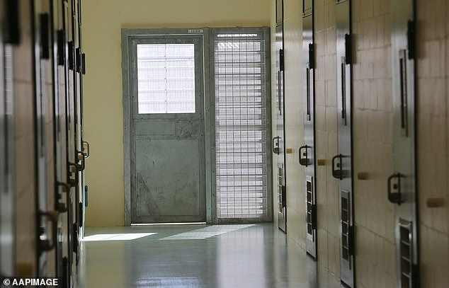 An inmate was found unconscious in his cell at Borallon Training and Correctional Centre (pictured) on Saturday and was unable to be revived