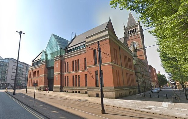 At Manchester's Minshall Street Crown Court, he was jailed for more than six years