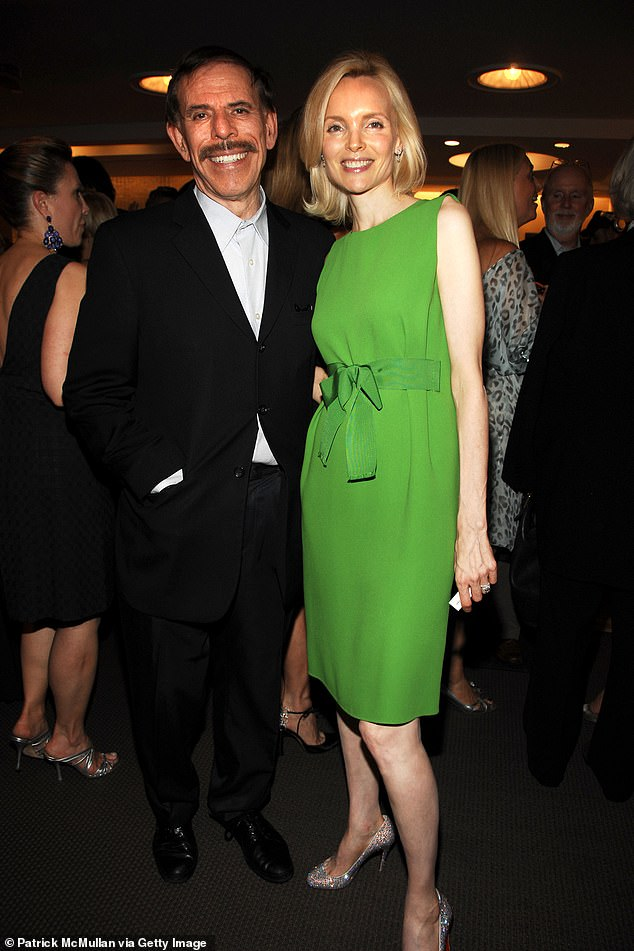 Mary Max (right), the wife of famed pop artist Peter Max (left), has died of suicide
