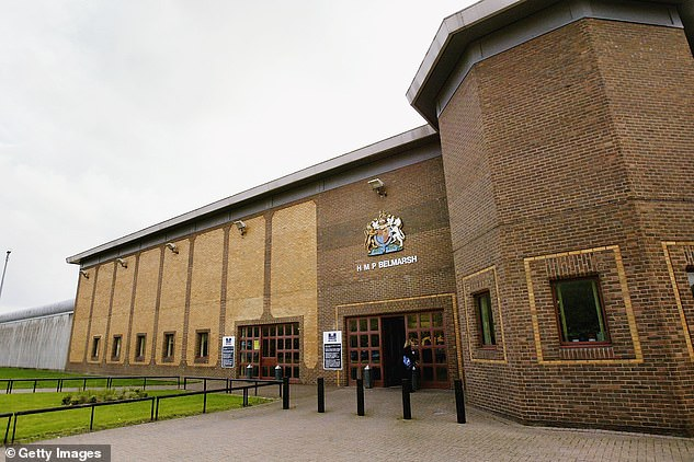HMP Belmarsh in London, where Assange is serving 50 weeks for skipping bail but could be extradited to the US