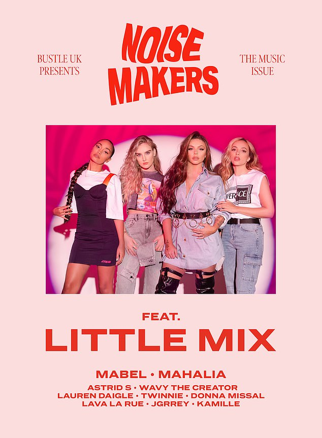 In an interview with Bustle UK's music issue Noisemakers, Little Mix have penned their younger selves empowering and insightful letters from the night they won The X Factor