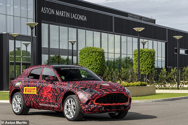 Aston Martin bosses have been clear that they are targeting wealthy female customers as key buyers of the new SUV