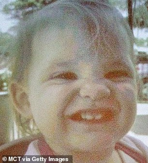One-year-old Abigail was strangled with a belt