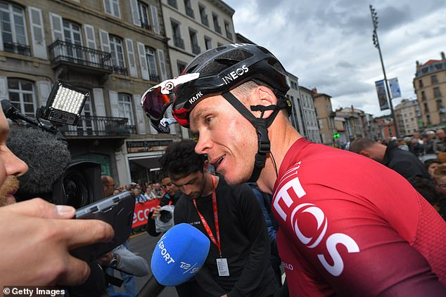 The Brit's participation in next month's Tour de France could be in jeopardy after the crash