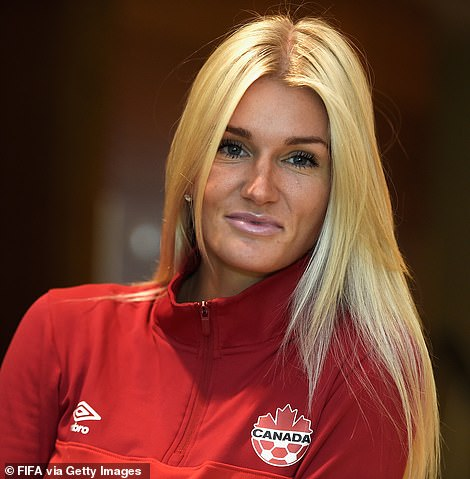 TSN analyst Kaylyn Kyle (pictured) says she received death threats after criticizing the U.S. women