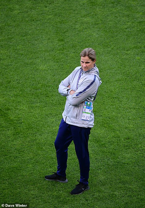 Ellis defended her players for celebrating each goal and said she would not be pure them in '