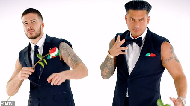 Questions: Double Shot at Love fans might be wondering if Pauly D's (right) new look could redeem him in the eyes of contestant Nikki