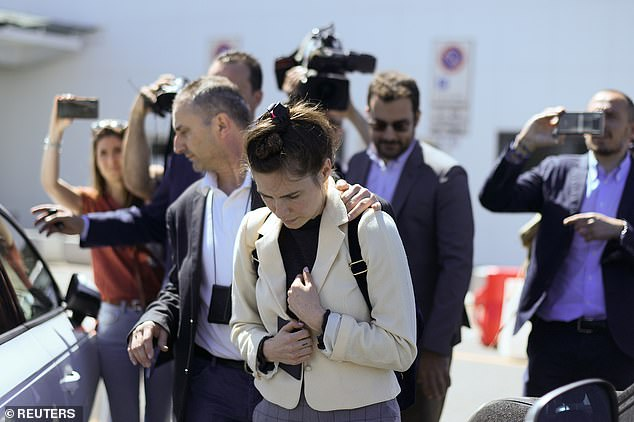 The body of the 21-year-old British exchange student was found by the police in the apartment in Perugia, which she shared with Knox on 2 November 2007. Knox and her then boyfriend Raffaele Sollecito were arrested and later sentenced in 2009 for murder and sexual assault