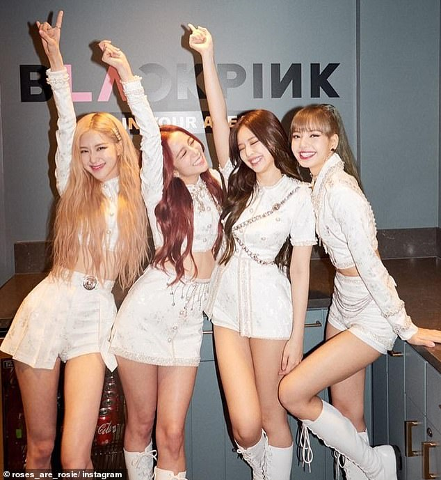 Fame: BLACKPINK are currently one of the biggest pop acts in the world, racking up billions of views on YouTube and attracting over 80 million followers on Instagram alone