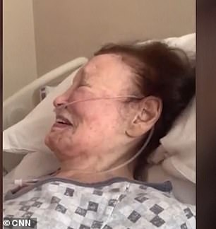 Cooper shared a video of his mother laughing in a hospital bed as part of his touching obituary on Monday