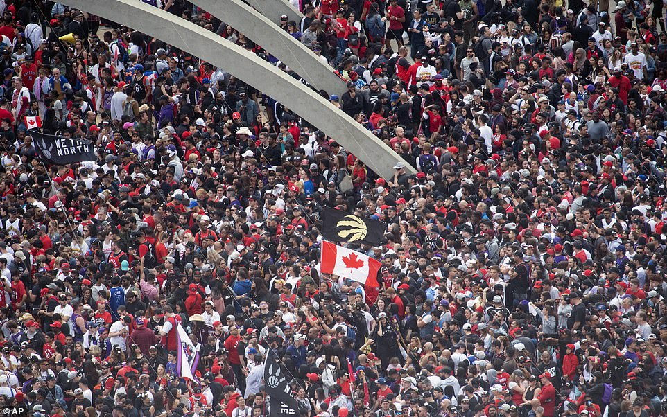 The possibility that the parade will be attended by two million people is remarkable considering that Toronto has a population of 2.93 million