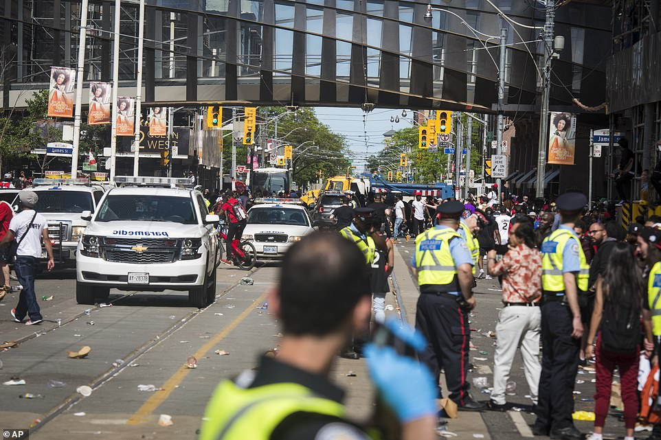 Two people were shot following Monday's victory parade in Toronto, celebrating the Raptors' first NBA title. As police told the Daily Mail, both victims sustained serious, but not life-threatening injuries