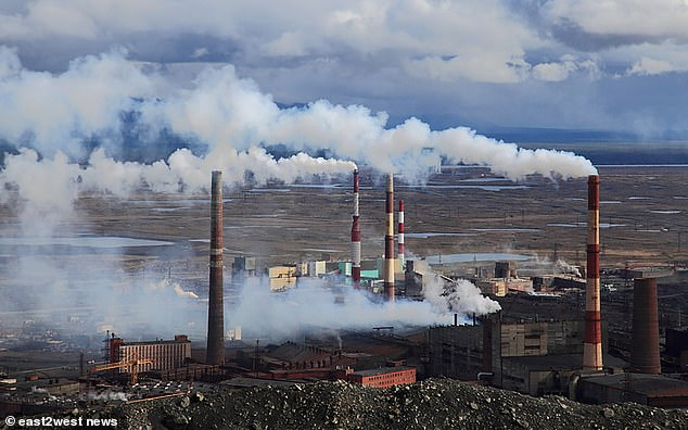 Norilsk is an industrial city in Krasnoyarsk Krai region above the Arctic Circle, east of the Yenisei River. It is what's known as a 'closed city' as foreigners cannot visit and during the Soviet-era did  not appear on maps, road signs or connect to public transport