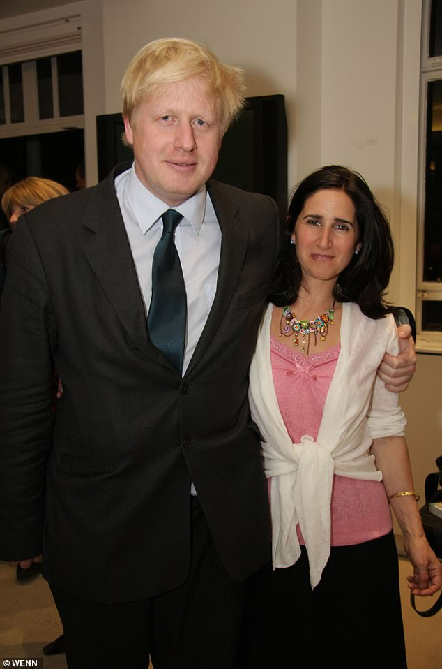 When Boris Johnson's affair with Carrie Symonds came to light last September, he and his wife Marina Wheeler filed for divorce