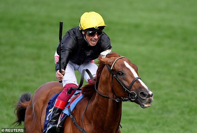 Frankie Dettori was named the Royal Ascot meeting's top jockey for a sixth time