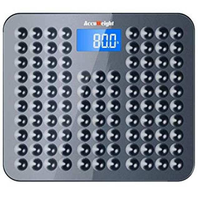 Accuweight Skidproof Bathroom Scale, £12.99, amazon.co.uk