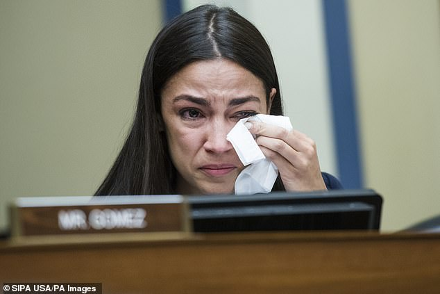 Rep. Alexandria Ocasio-Cortez tore up during a hearing on Wednesday, when she listened to Yazmin Jurez, a migrant from Guatemala, told how her 19-month-old daughter, Mariee, died after falling ill at an Immigration and Customs Enforcement (ICE) detention facility