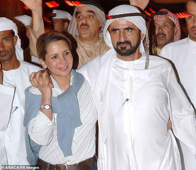Brit bodyguard whose 'close friendship' with runaway Dubai