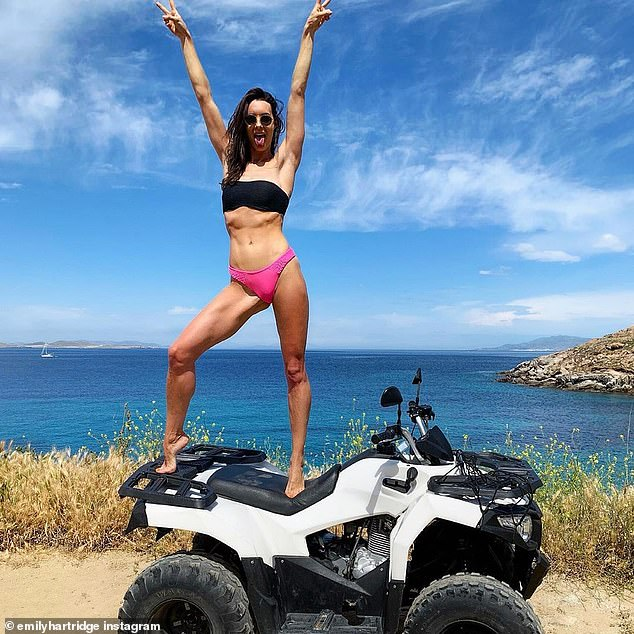On Wednesday, Emily Hartridge posted a video about the benefits of dating a younger man