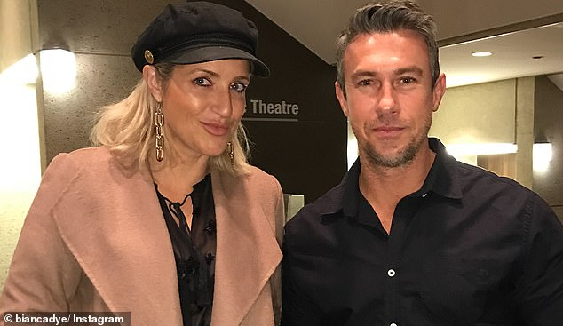 Her new partner Jay Sandtner (pictured together) - a father of four himself - initially struggled with the prospect
