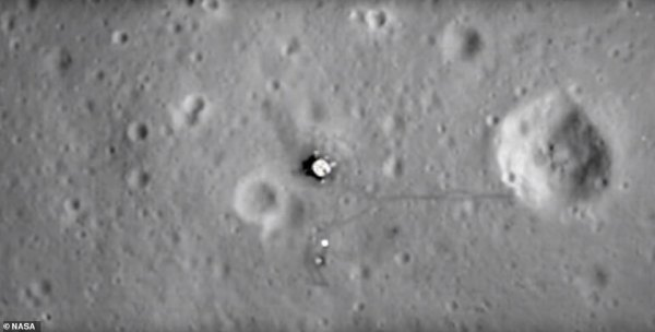 Satellite images show items left behind at Apollo 11 moon ...