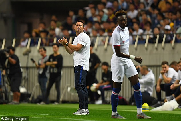 Frank Lampard was impressed with what he saw from his team at the Saitama Stadium