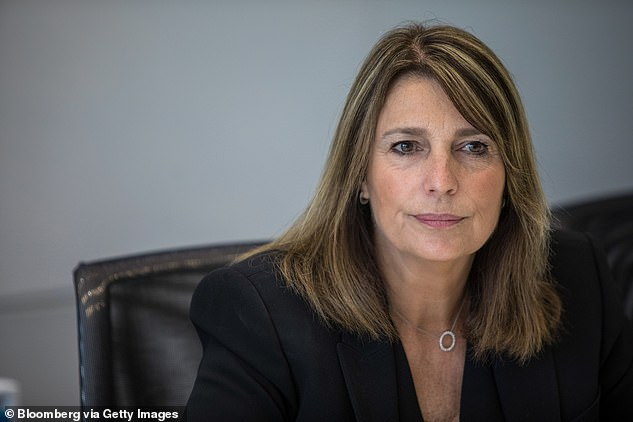 Speaking out: Deborah slammed CEO Dame Carolyn McCall, 57, for her 'hypocrisy' and 'haughtily placed remarks' as she continues to mourn the death of her daughter (pictured in 2017)