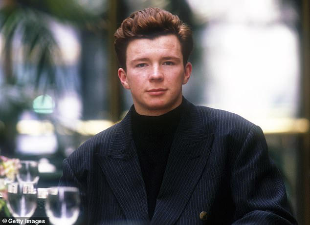 Overnight success! Rick, who was only 19 years old when the song came out in 1987, described how the track ultimately pigeonholed him as far as music was concerned