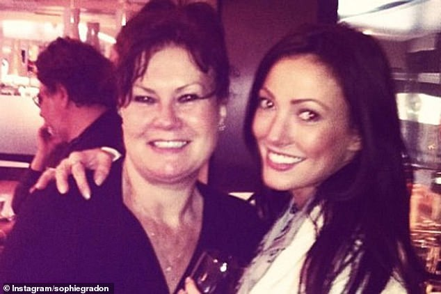 Grieving: Sophie Gradon's mother Deborah has blasted the chief executive of ITV as 'evil' in an open letter following her daughter's tragic passing in June 2018