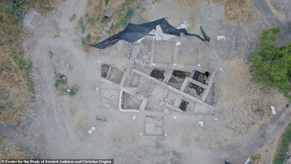 The team says the newly-discovered church fitted the account of Willibald, the Bavarian bishop of Eichstaett who visited the area around 725 AD and reported that a church at Bethsaida had been built on the site of Peter and Andrew's home