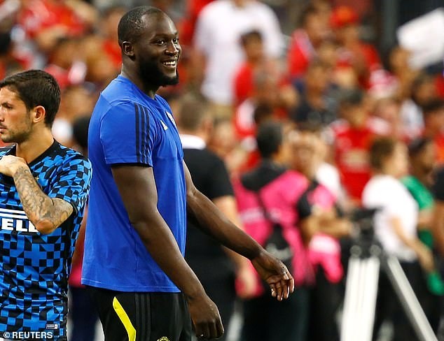 Lukaku - subject of heavy interest from Juventus - will miss his sixth pre-season game in a row