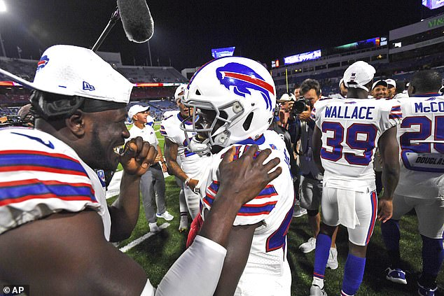 Despite the stunning try, Wade still has plenty of work to do to earn a place in the Bills team