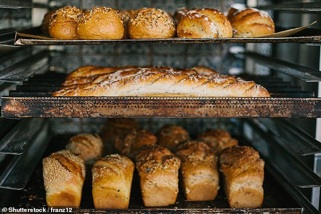 When the inside of the loaf reaches 60 degrees the crust will return to a crispy state, making it the perfect consistency to eat