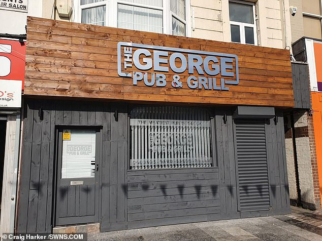 Craig, from Teeside, has come up with whacky menu choices for years - from the cheese-soaked doner meat Parmo Kebab, to the largest Christmas dinner ever. His pub is pictured
